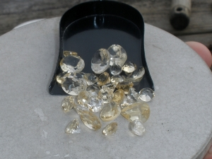 Over 25 Carats of Loose Natural Yellow Citrine Gem Mix