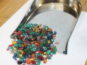 Over 25 Carats Of Gems, Rubies, Sapphires, & Emerald Mix