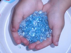 Sky Blue Topaz  gemstone mix over 50 carats