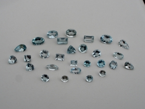 Aquamarine natural gem mix parcel lot over 5 carats