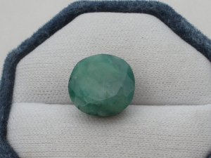 Emerald Cushion Loose Natural Gem 19 x 19mm