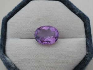 Amethyst Oval Natural Gem 14 x 11mm