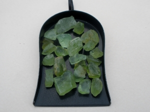 Peridot crystal rough gem mix parcel over 50 carats