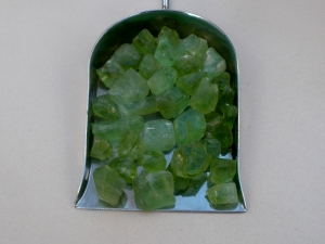 Peridot natural crystal rough gem mix parcel over 100 carats