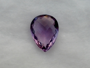 Amethyst Pear Cushion Loose Gem 17 x 13mm