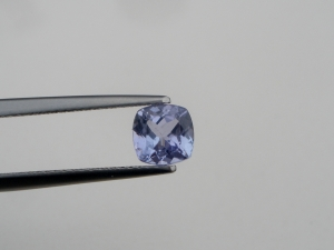 Tanzanite square cushion loose gem 6 x 6mm