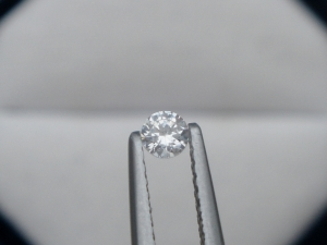 3mm white natural diamond loose faceted round 0.10 carats