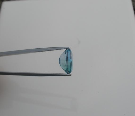 Multi-Color Blue Topaz Cushion Gem 12 x 10mm