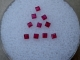 10 Loose Natural Red Ruby Square Gems 1.5mm