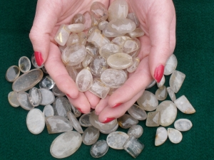 Over 100 Carats Loose Natural Rutilated Quartz Gem Mix