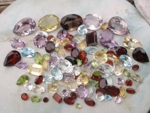 Over 100 Carats of Loose Natural Semiprecious Gemstones