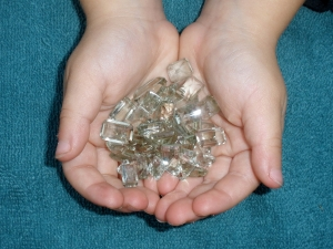 Over 50 Carats of Loose Natural Green Amethyst Gem Mix