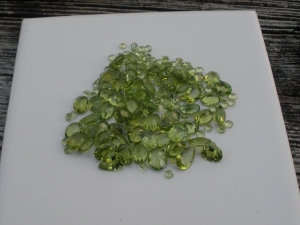 Peridot Gem Mix Parcel Lot Over 100 Carats