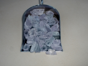 Kunzite crystal rough gem mix parcel over 100 carats