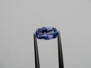 Tanzanite Cushion loose gem 8x5mm