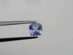 Tanzanite square cushion loose gem 6 x 6mm