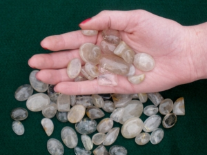 Over 50 Carats Rutilated Quartz Gems